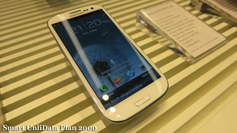 Galaxy S3: Smart UnliData 2000 vs. Globe UnliSurf 2499