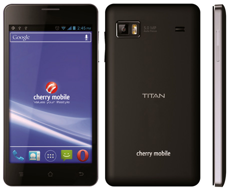 Cherry Mobile launches Titan and Flare dual-SIM Android phones