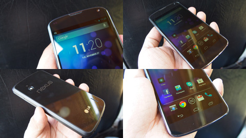 Nexus 4 in the flesh, 1st impression & sample photos