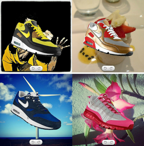 Create Instagram-inspired Nikes with PHOTOiD