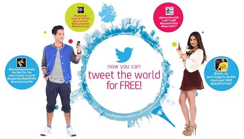 Smart offers free Twitter access