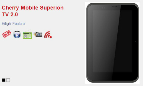 Cherry Mobile teases Superion TV 2