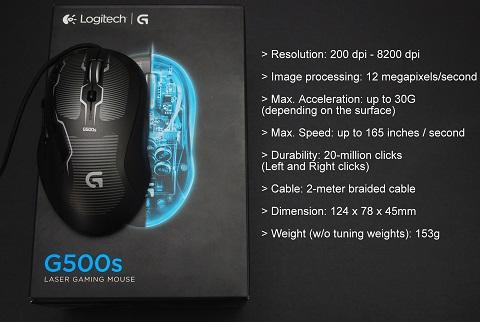 logitech g500s philippines