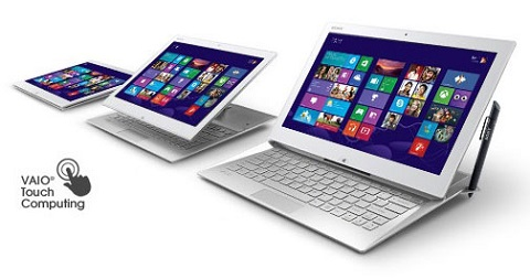 Sony VAIO Duo 13 hits the local store
