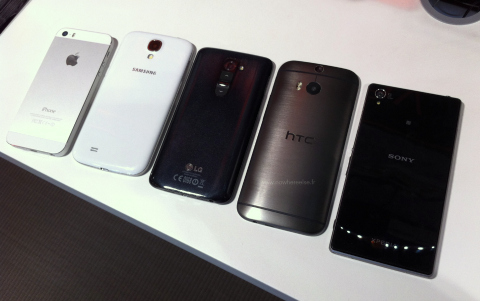 POLL: Which smartphone brought the sexiest back?