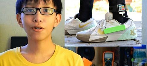 Filipino kid smartshoes