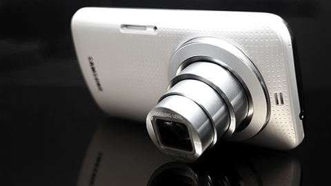 Samsung Galaxy K Zoom Back Angled