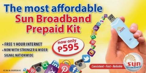 Sun Broadband Prepaid Kit
