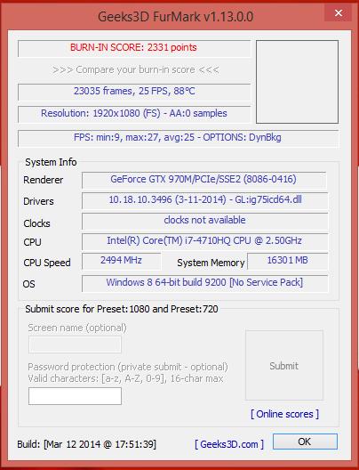 FURMARK 1080P