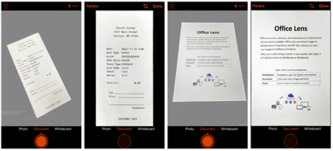 Office Lens for iPhone and Android now available