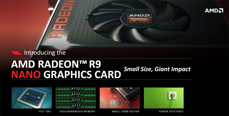 AMD announces Radeon R9 Nano