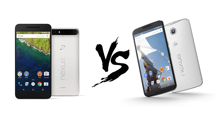 Specs Comparison: Motorola Nexus 6 VS Huawei Nexus 6P