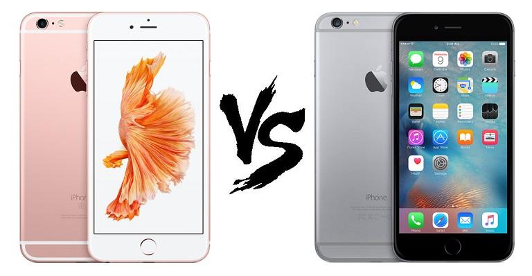 Specs Comparison: Apple iPhone 6S Plus vs iPhone 6 Plus