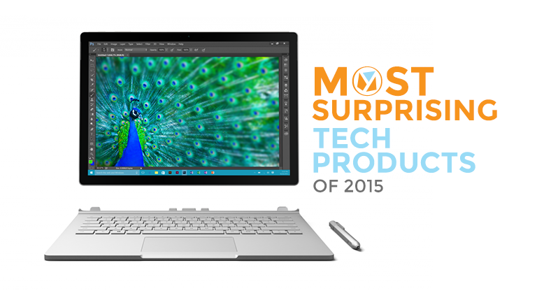10 Most Surprising Products of 2015