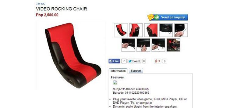 cdrking-video-rocking-chair