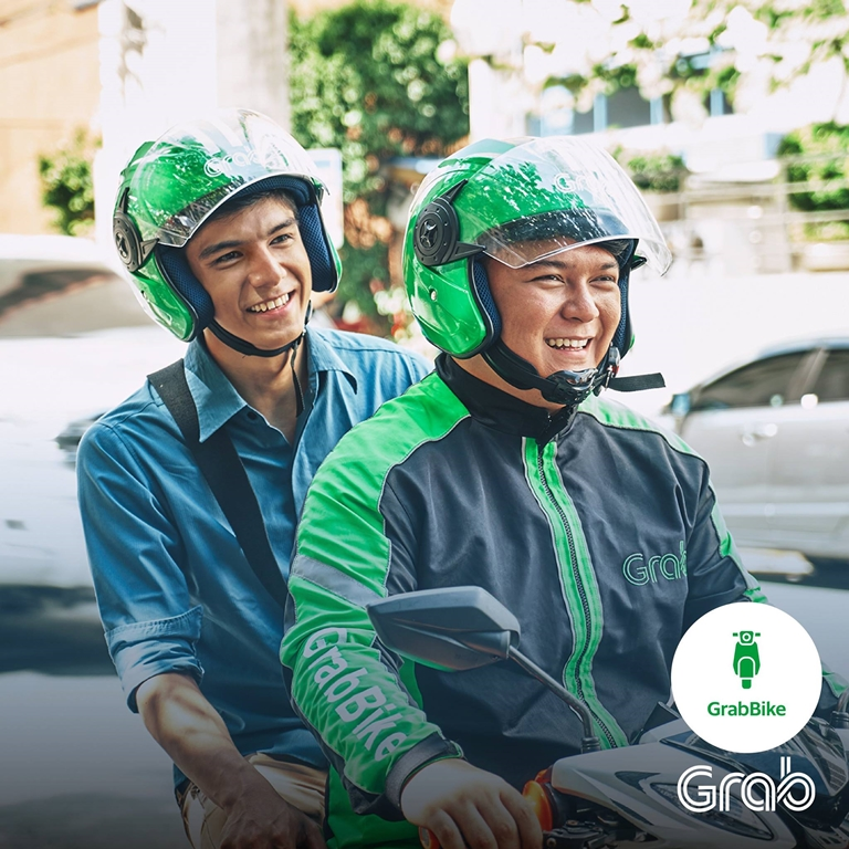 Grab temporarily suspends its GrabBike service