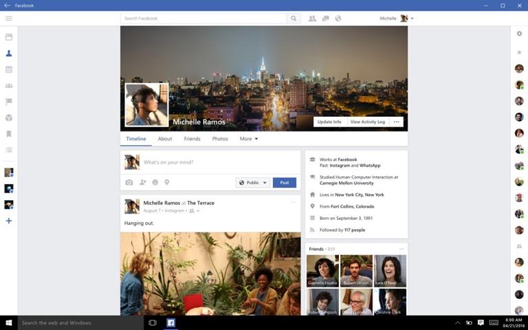 Windows 10 gets updated Facebook and Messenger desktop apps