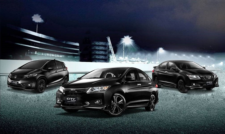 Honda Cars Philippines, Inc. (HCPI) Has Introduced New Variants Of Their  Subcompact Vehicles U2013 The New City And Jazz Black Edition.