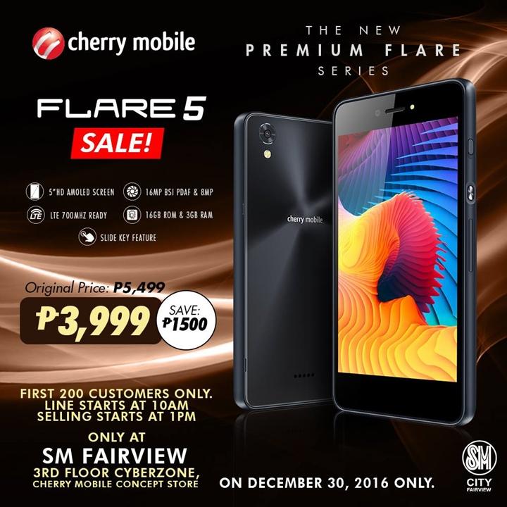 flare-5-sale-sm-fairview