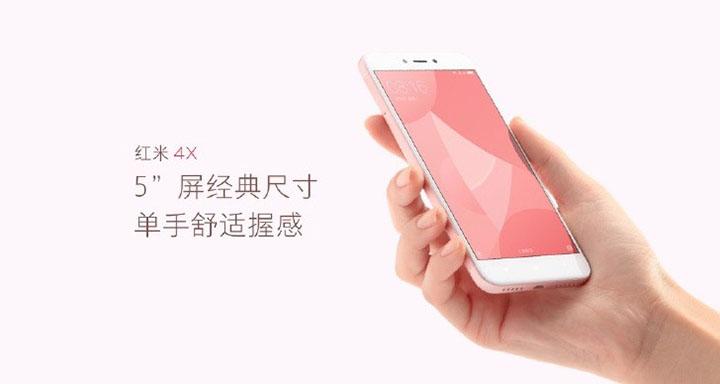 Xiaomi Redmi 4X specs: 5-inch HD display @ 1280 x 720 resolution 1.4GHz A53 octa-core processor. Adreno 505 GPU 2GB/3GB RAM 16GB/32GB storage