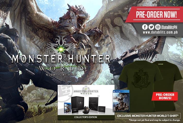 Monster Hunter World Standard & Collector's Edition