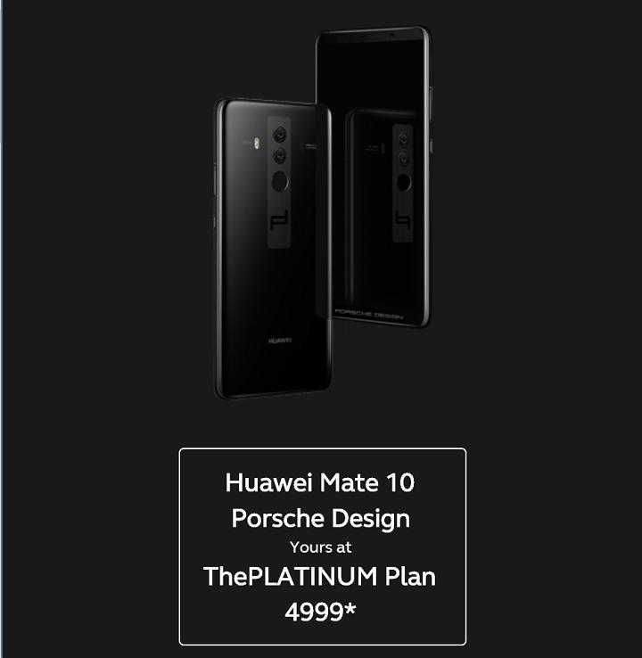b59cf163dc3a Huawei Mate 10 Porsche Design specs  6-inch 18 9 2K OLED FullView display    2160 x 1080 px