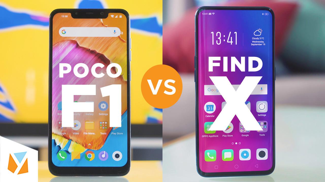 Watch Pocophone Poco F1 Vs Oppo Find X Comparison Review Yugatech Headset Bluetooth Professional Samsung Sony Asus Xiaomi Lenovo Vivo Philippines Tech News Reviews