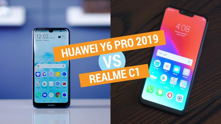 Huawei Y6 Pro 2019 vs Realme C1 specs comparison — 911 PH